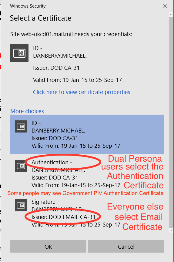 You can also try to go directly to > northtercessbudh.cf and select your DOD EMAIL CERTIFICATE when prompted and enter your pin code. The success ratio is 4 out of The success ratio is 4 out of